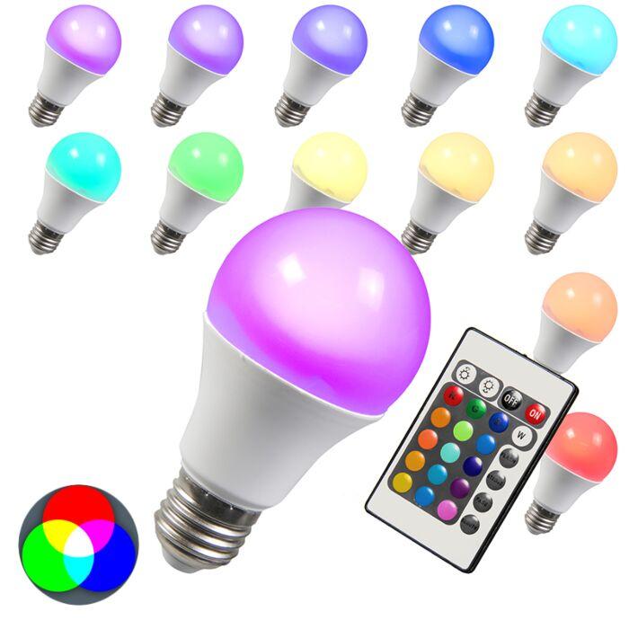 LED-izzó-RGB-E27-3W