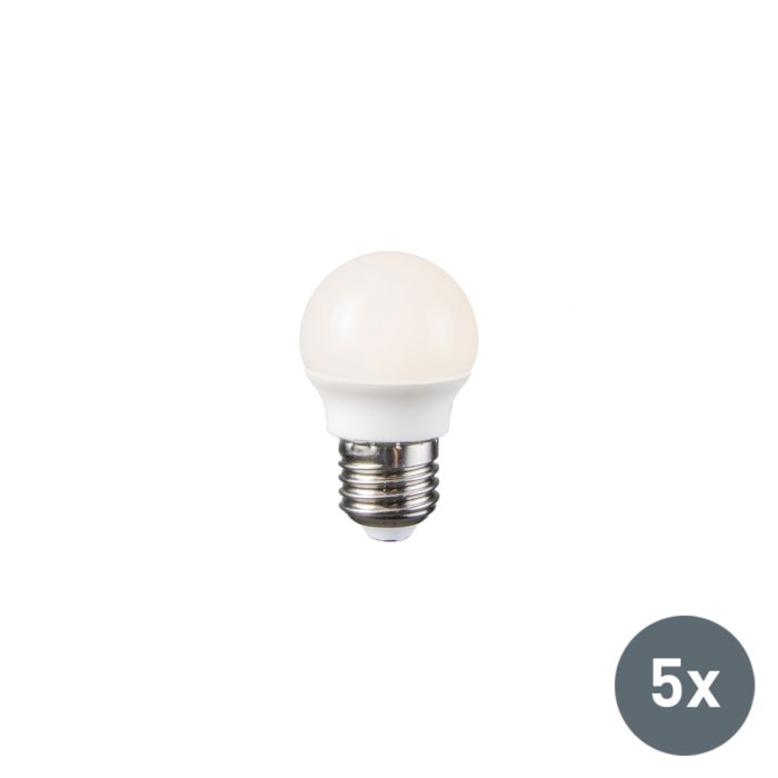 LED-lámpa-3,5-W-E27-P45-5-db