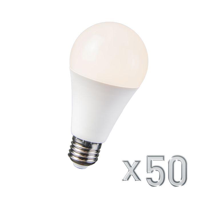 LED-lámpa-10W-E27-B60-50-es-készlet