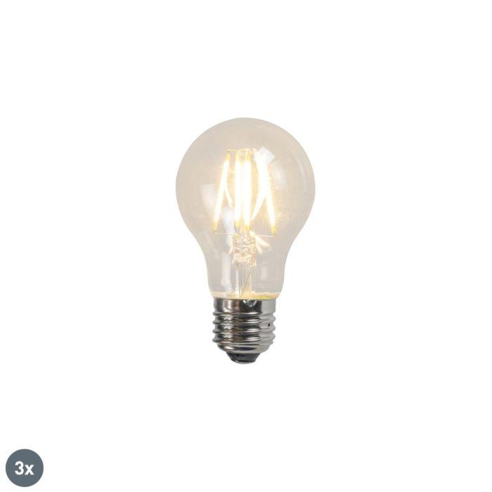 Izzó-LED-lámpa-A60-4W-2700K-tiszta-3-as-készlet