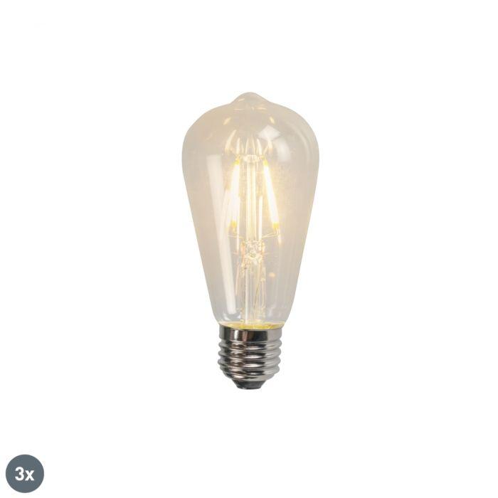 3-db-E27-LED-es-izzólámpa-ST64-4W-470LM-2700K