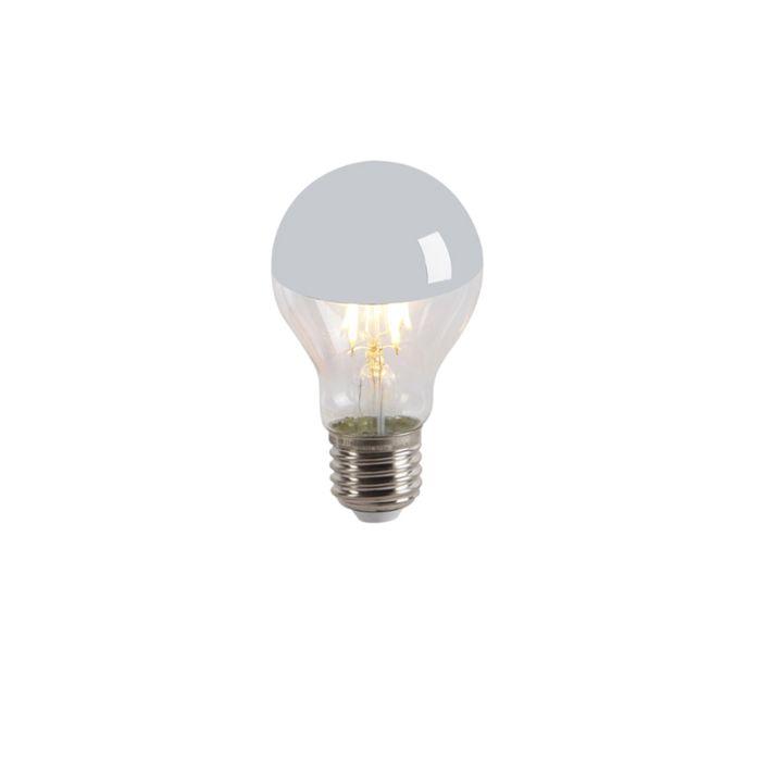 LED-izzólámpa-fej-tükör-E27-240V-4W-300lm-A60-tompítható