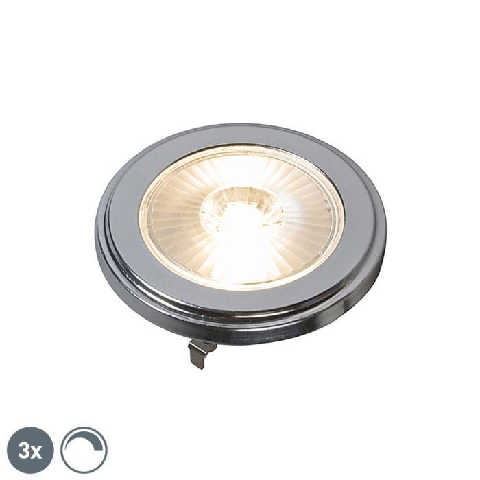 3-db-G53-szabályozható-AR111-LED-lámpa-10W-800LM-3000K