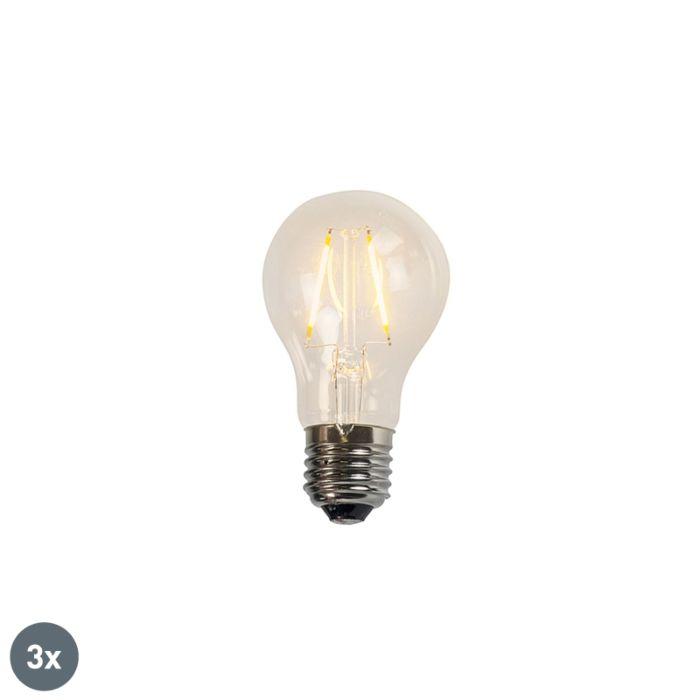 3-db-izzó-LED-es-lámpa-A60-2W-2200K-átlátszó