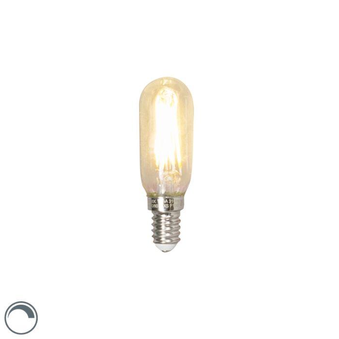 LED-izzólámpa-cső-E14-240V-3,5-W-310lm-T24-tompítható