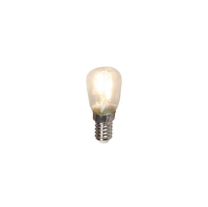 LED-izzólámpa-kapcsolótábla-lámpa-E14-240V-1W-100lm-T26