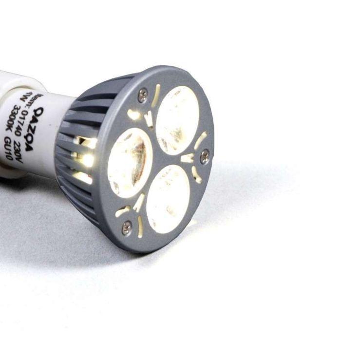 Nagy-teljesítményű-GU10-LED---3,5-W-=-35-W-fénykibocsátás-fehér,-3300K
