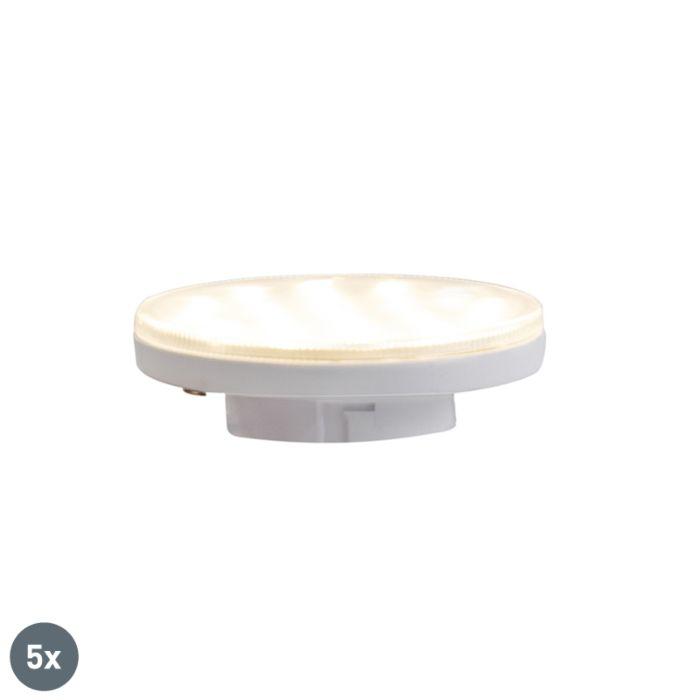 5-db-GX53-háromlépéses-tompítható-LED-lámpa-3W-350-lm-3000K