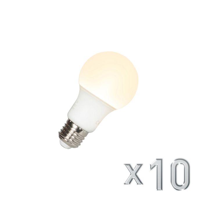 10-db-LED-es-lámpa-A60-E27-9W-3000K