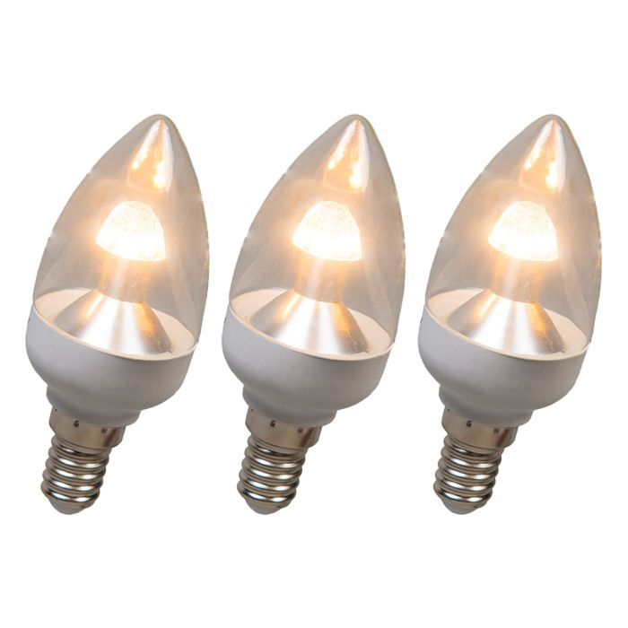 LED-es-gyertyalámpa-E14-4W-250-lumen-melegfehér-Tompítható-3-as-készlet