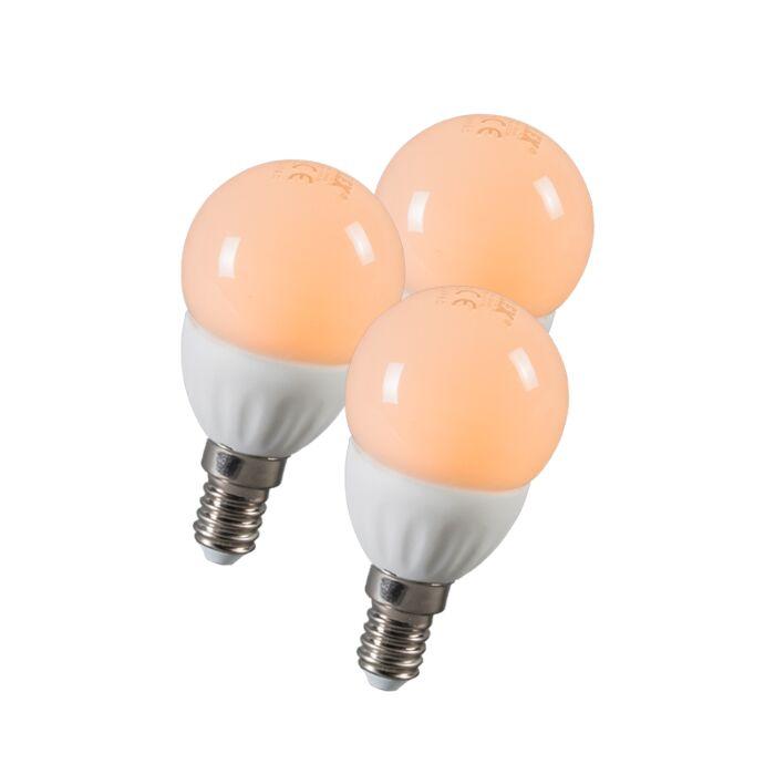 LED-golyó-E14-3W-250-lumen-kb.-25W-3-as-készlet
