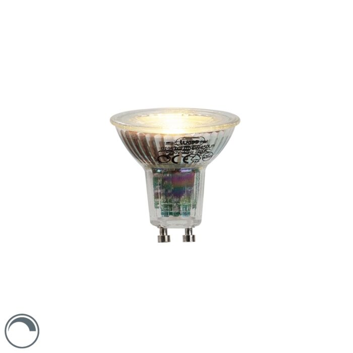 GU10-LED-lámpa-6W-450-lumen-2700K-tompítható