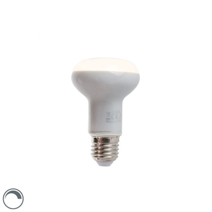Tompítható-LED-reflektorlámpa-E27-5W-370-lumen-melegfehér-2900K-R63