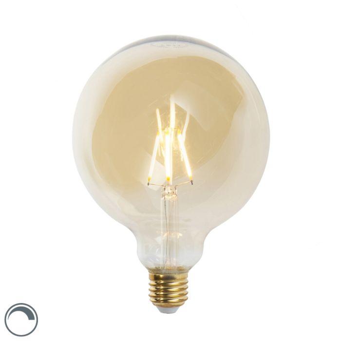 E27-tompítható-LED-izzólámpa-G125-goldline-360-lumen-2200K