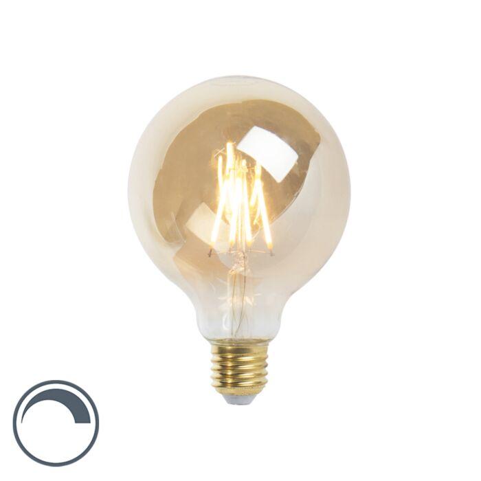 LED-E27-szabályozható-izzólámpa-G95-goldline-360lm-2200K