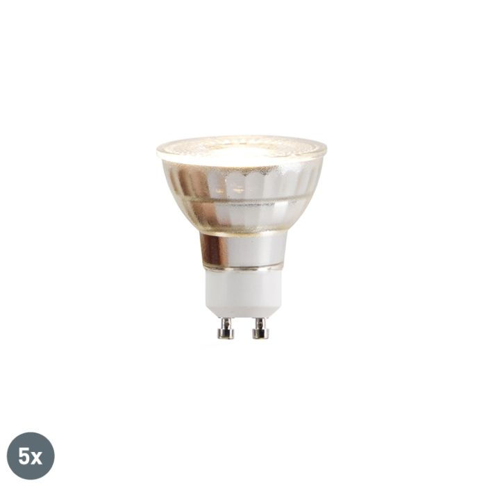 5-db-GU10-LED-lámpa-COB-5W-380lm-2700K