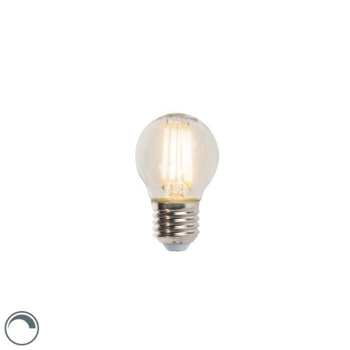 LED-izzó-gömblámpa-E27-5W-470lm-P45-tompítható