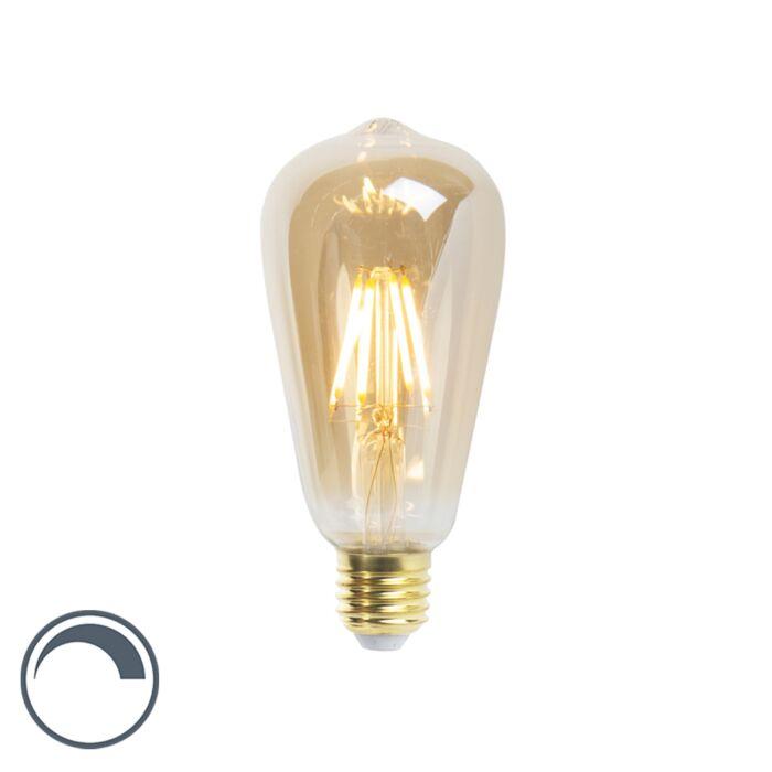LED-izzólámpa-ST64-E27-5W-360-lumen-2200K-tompítható