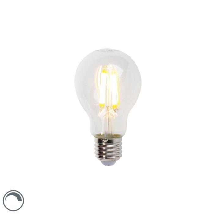 LED-izzólámpa-E27-7W-806lm-A60-fényerő-szabályozható
