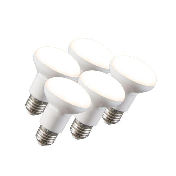 5-db-LED-es-reflektorlámpa-készlet-R63-E27-240V-8W-2700K-tompítható