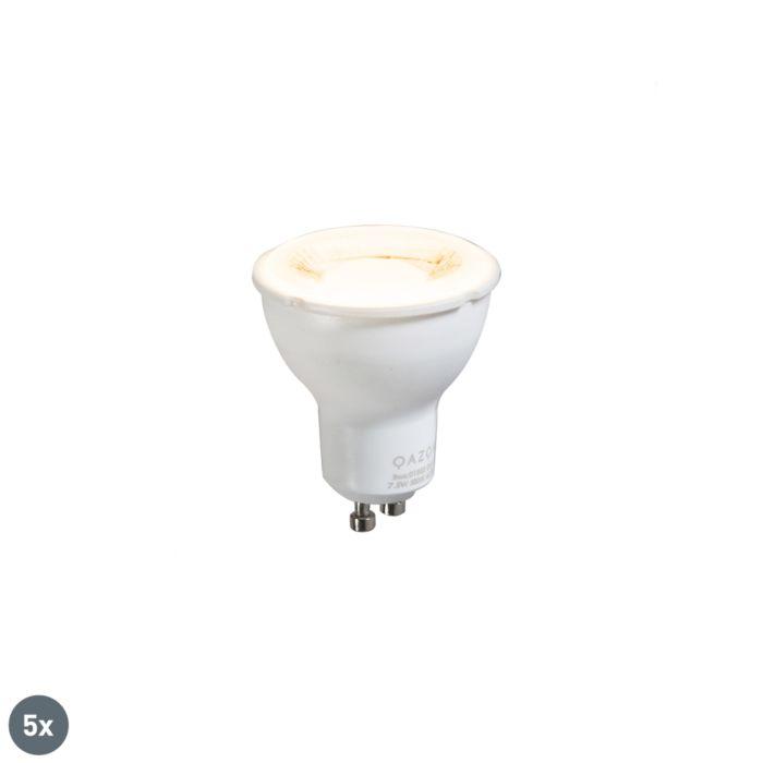 5-db-GU10-lámpa-szett-7,5-W-3000K