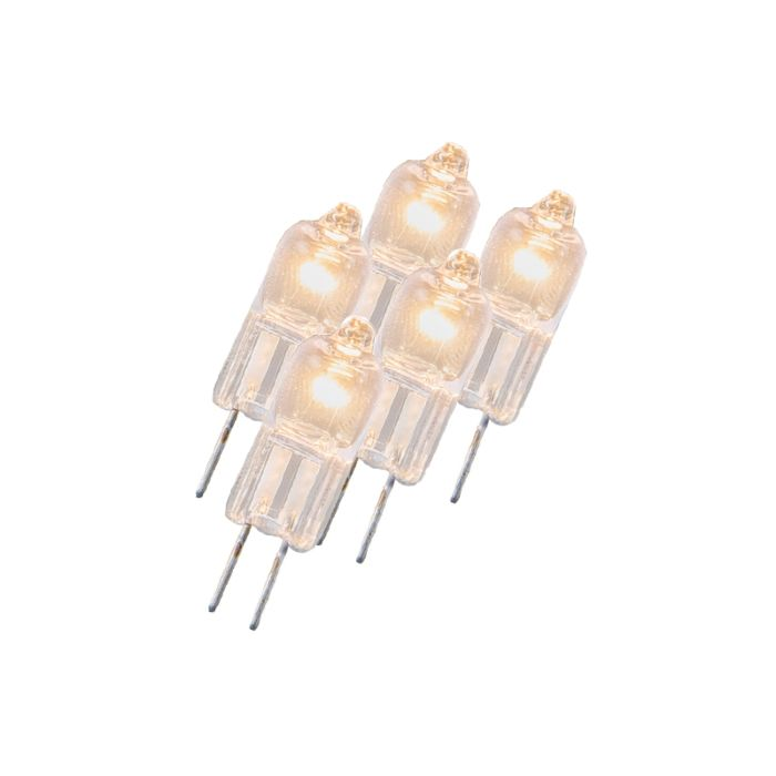 5-halogénlámpa-G4-5W-12V-átlátszó