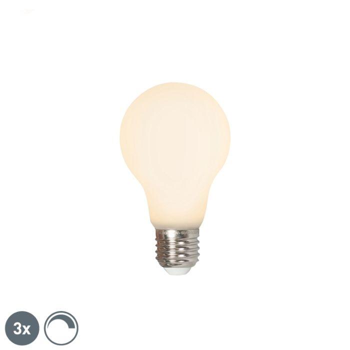 3-db-LED-E27-240V-4W-380lm-tompítható