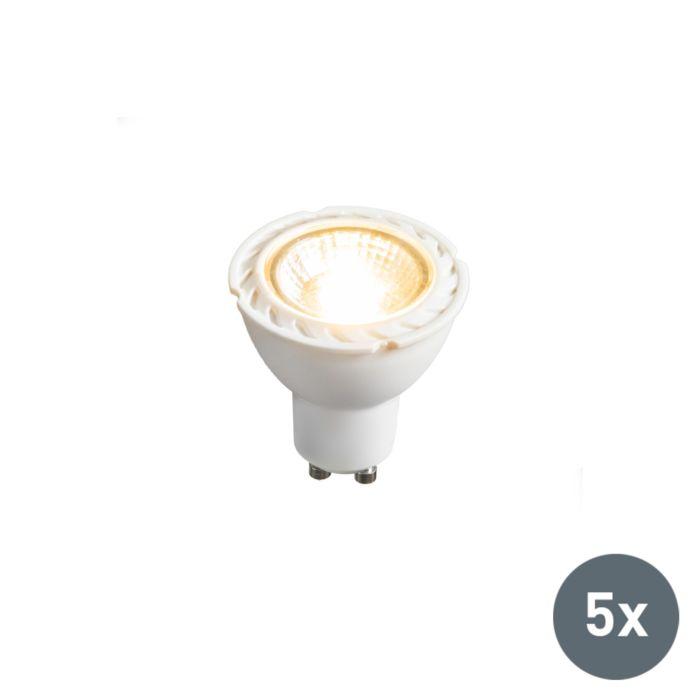 5-db-LED-es-lámpa-GU10-240V-7W-2700K-tompítható