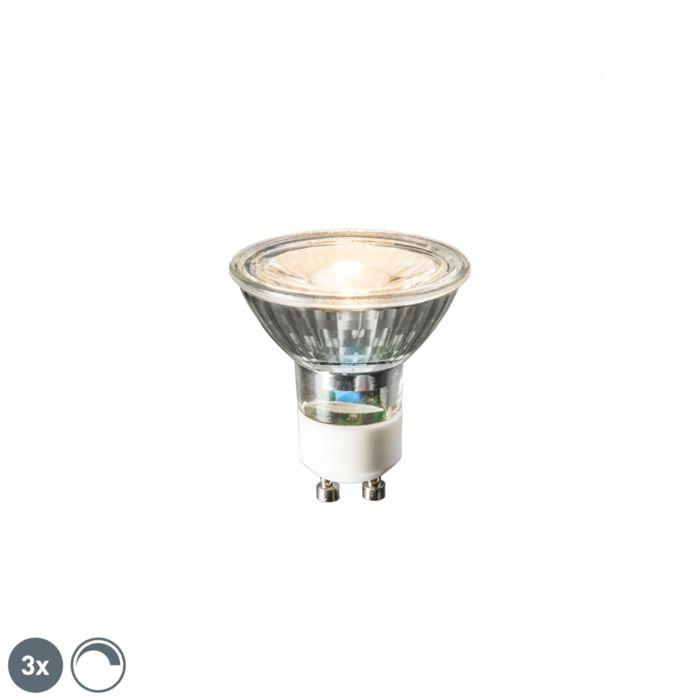 3-db-GU10-LED-lámpa-6W-450-lumen-2700K-tompítható