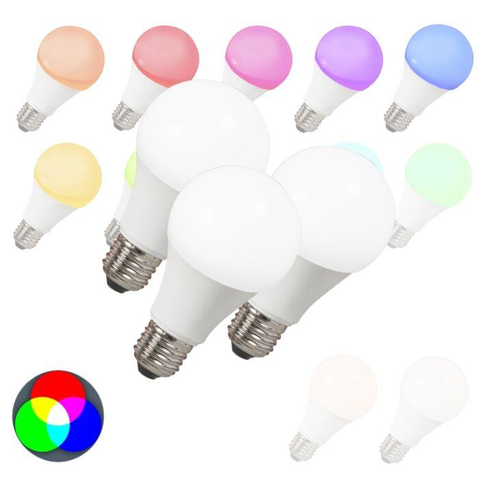 3-db-LED-es-izzó-készlet-E27-240V-7W-500lm-A60-Smart-Light