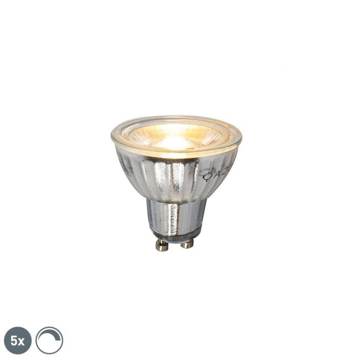 5-db-GU10-szabályozható-LED-lámpa-7W-500LM-2700K