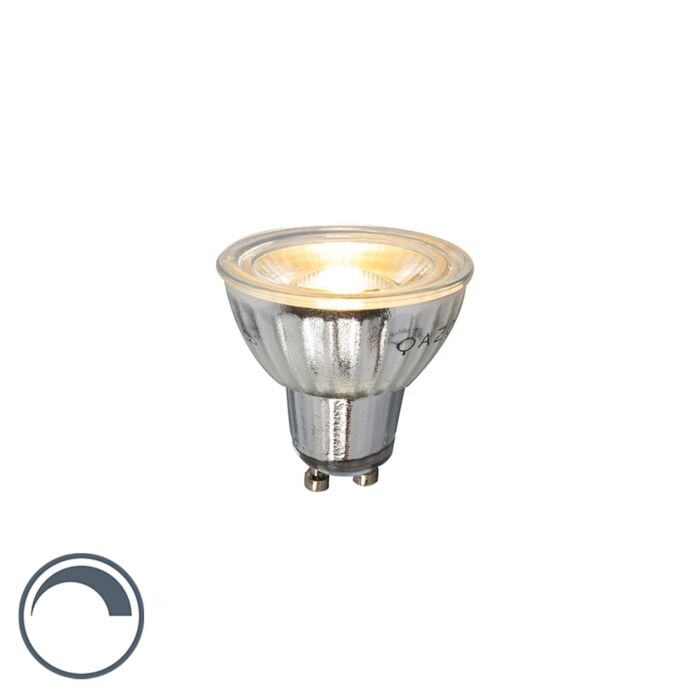 GU10-LED-lámpa-230V-5W-380LM-2700K-tompítható