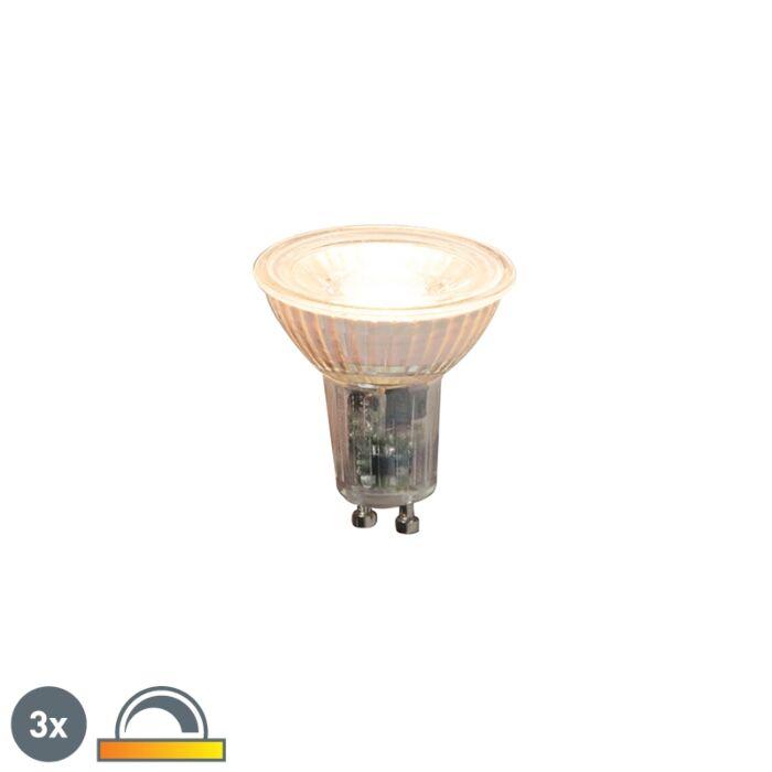 3-db-GU10-szabályozható-LED-lámpa-5,5-W-360lm-2000K---2700K