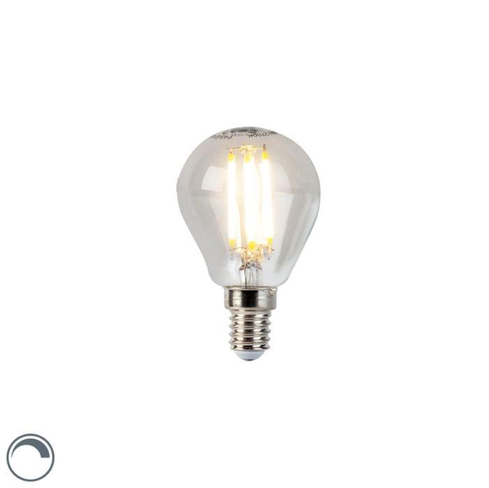 LED-izzó-gömblámpa-E14-5W-470lm-P45-tompítható