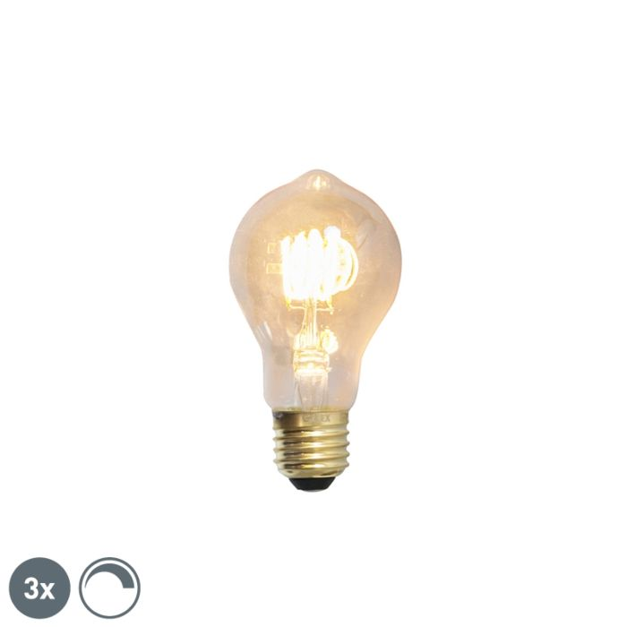 3-db-E27-tompítható-LED-izzólámpa-4W-200lm-2100-K.
