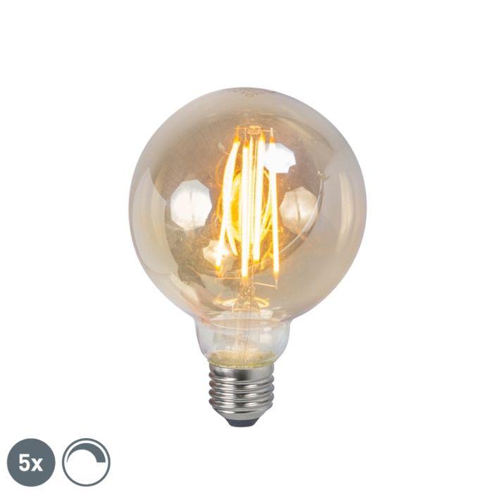 5-db-E27-szabályozható-izzólámpa-füstlámpa-5W-450lm-2200K