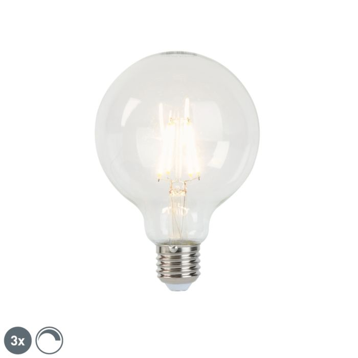 3-db-E27-tompítható-LED-izzólámpa-G95-5W-470-lm-2700K