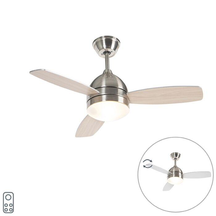 Mennyezeti-ventilátor-acél-távirányítóval---Rotar