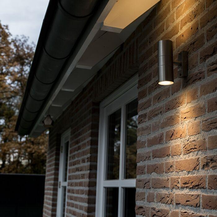 Kültéri-lámpa-Duo-acél