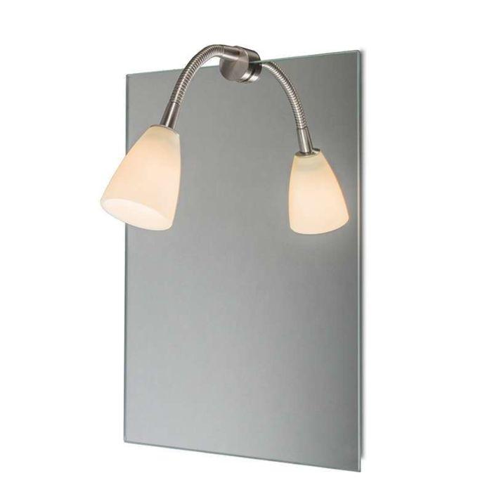 Tükörvilágítás-Curvus-acél