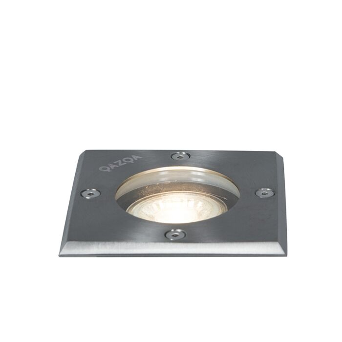 Őrölt-spot-acél-10,5-cm-IP65---Basic-Square