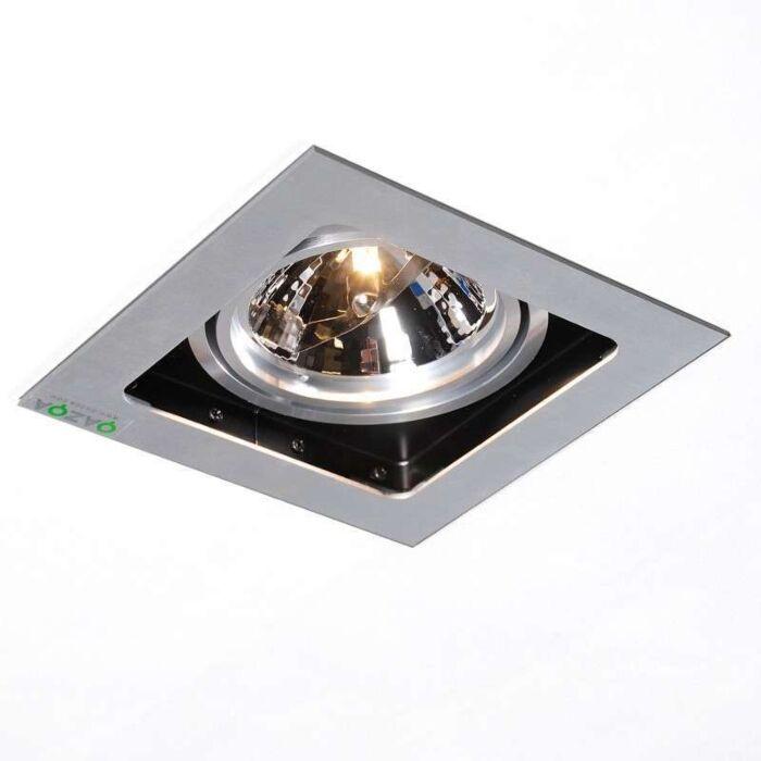 Süllyesztett-spot-Qure-1-alumínium
