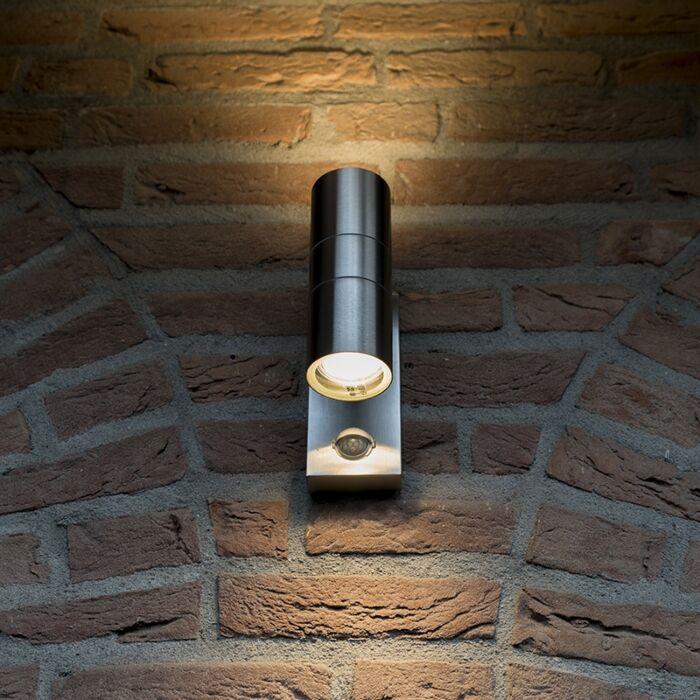 Kültéri-lámpa-Duo-IR-acél