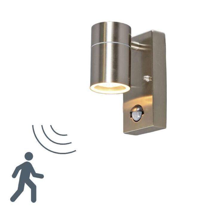 Solo-kültéri-fali-lámpa-acél-PIR