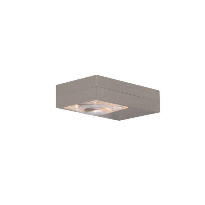 Fali-lámpa-Focus-acél