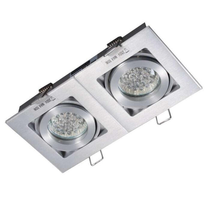 Beépített-spot-Quadro-2-alumínium