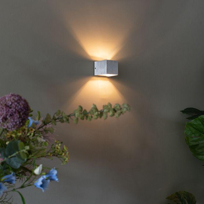 Modern-fali-lámpa-alumínium---transzfer