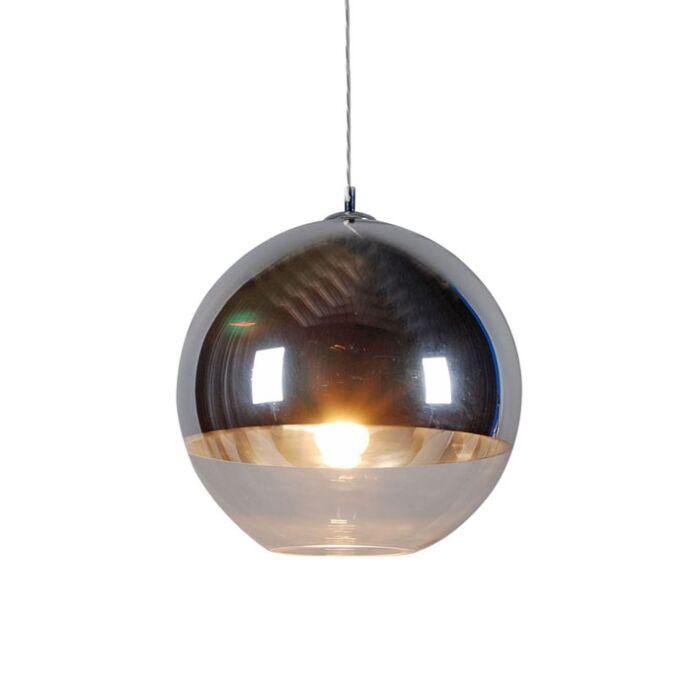 Lógólámpa-Golyó-40-ezüst