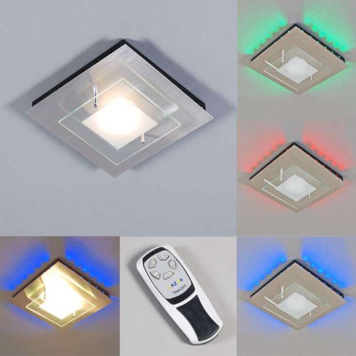 Mennyezeti-lámpa-Plate-GX-RGB-LED-acél