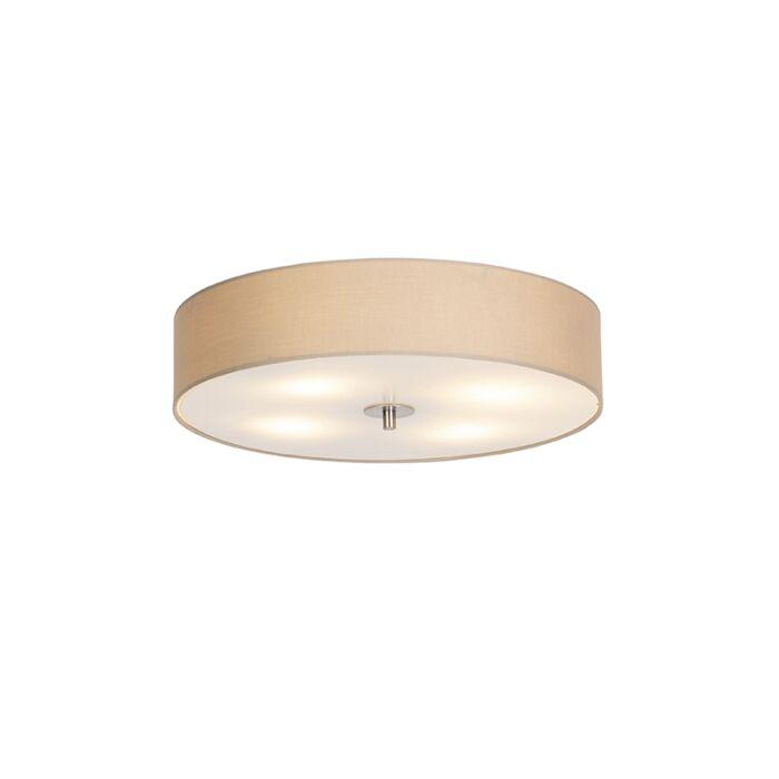 Vidéki-mennyezeti-lámpa-bézs-50-cm---Dob